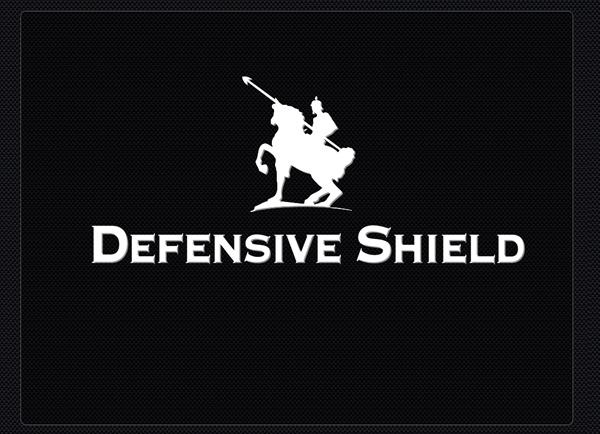 מצגות עסקיות | Defensive Shield | תבנית למצגת | דוגמה מצגת עסקית