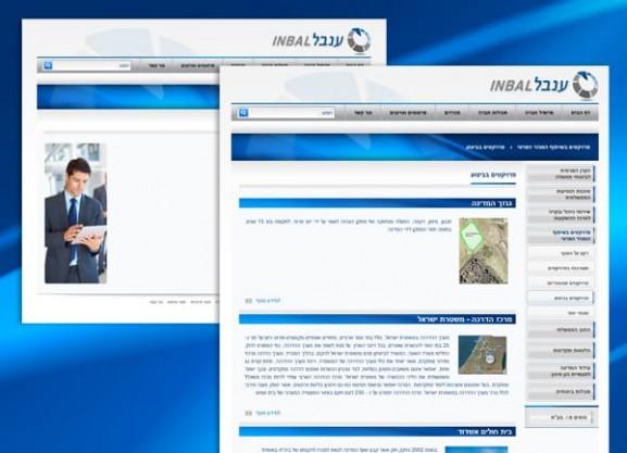 דוגמה בניית אתר | תדמית | הקמת פורטל | ענבל חברה לביטוח בע
