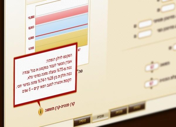 דוגמה אפיון אפליקציה | GUI | מערכת | מנורה מבטחים | ממשק משתמש | תוכנה