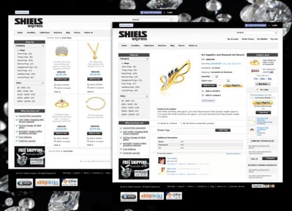 דוגמה עיצוב סקיצה אתר | מסחרי | ecommerce | Shiels | בניית אתרים | אתרי אינטרנט