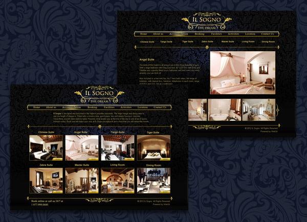 דוגמה בניית אתר | Il-songo Italy | הקמת אתרים | עיצוב | תדמיתי | קידום | תדמית