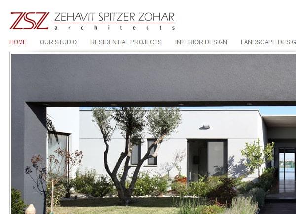 דוגמה בניית אתר | אדריכלית זהבית שפיצר זוהר | עיצוב אתרים | מיתוג עסק | קידום | אינטרנט