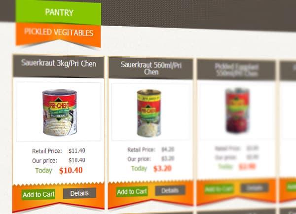 תדמית | אתר בהקמה | מסחרי | Groceries on the go | חנות | Ecommerce | דוגמה עיצוב