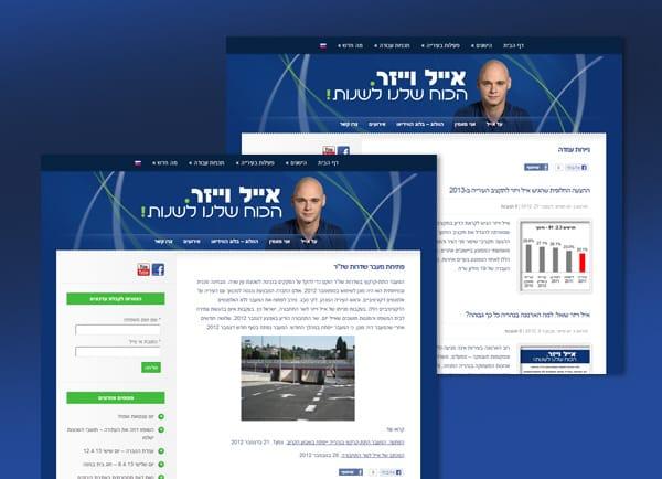 בניית אתר תדמיתי | בלוג | אייל וייזר | אתרים | הקמת | אתרי אינטרנט | עיצוב | קידום