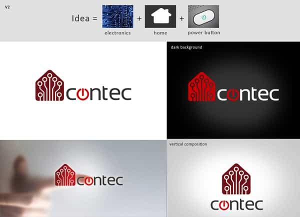 עיצוב לוגו | כרטיס ביקור | קונטק