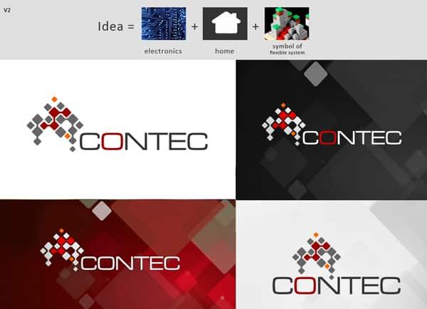 עיצוב לוגו | מיתוג עסקי | עיתוג עסקים | קונטק