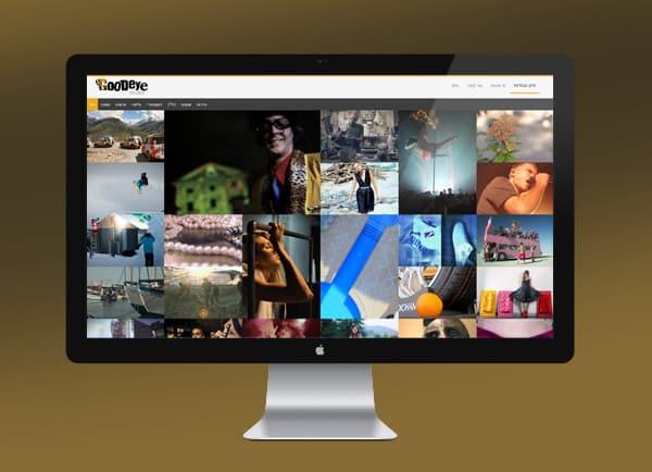 בניית אתר תדמיתי Good ey studio | הקמת אתרים | עיצוב | קידום | באינטרנט