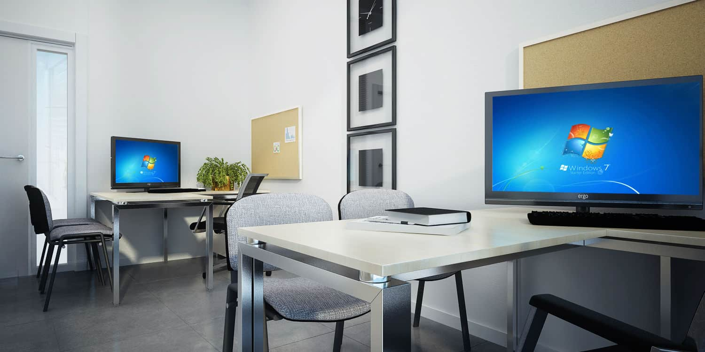 הדמיה אדריכלית משרד בחברת חשמל