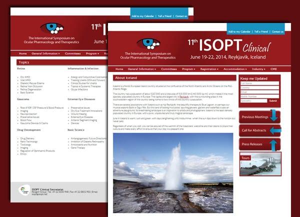 בניית אתר אינטרנט | עיצוב אתרים | ISOPT | אתרי תדמית | כנס | תדמיתי