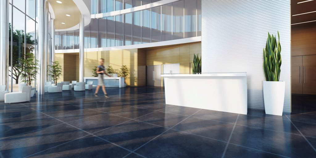 Web3D - הדמיות אדריכלות - לובי