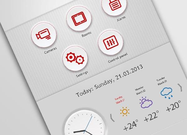 עיצוב אפליקציה | פיתוח תוכנה | אייקונים | אפיון | GUI | contec