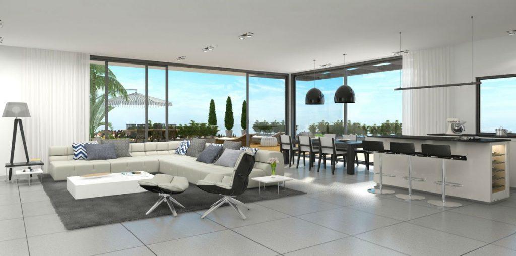 Web3D - הדמיות תלת מימד - אילוסטרציה של חלל הבית