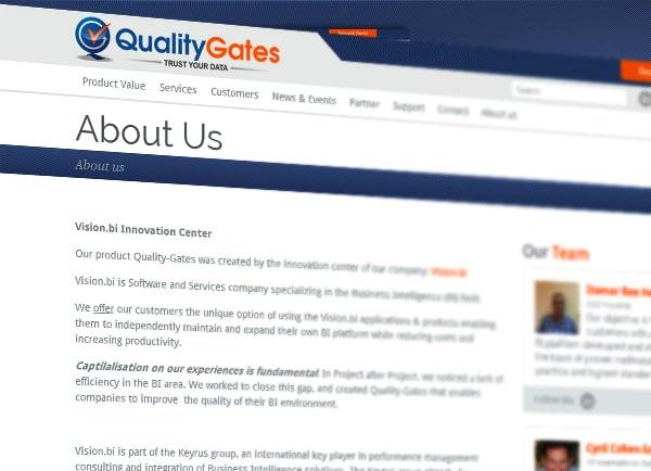 עיצוב אתרי אינטרנט   בניית אתרים   QualityGates לעסקים