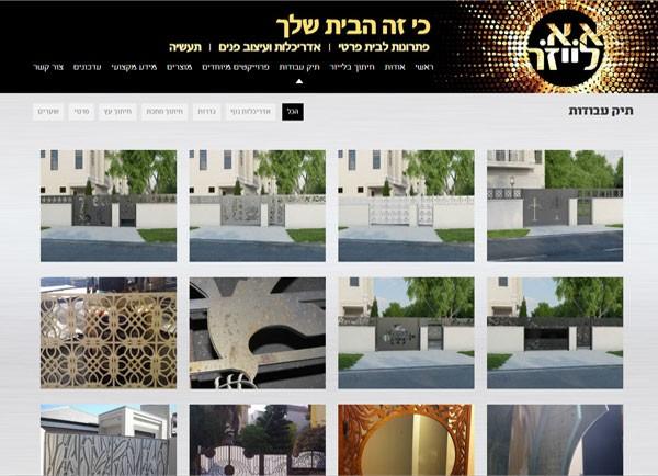 בנייה ועיצוב אתר | א''א לייזר | אתרים | עיצוב | הקמת | תוכן | תדמית