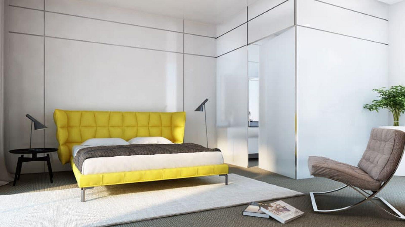 הדמיות תלת מימד | אדריכליות | חדר שינה: שגראווי SBI רמת ישי