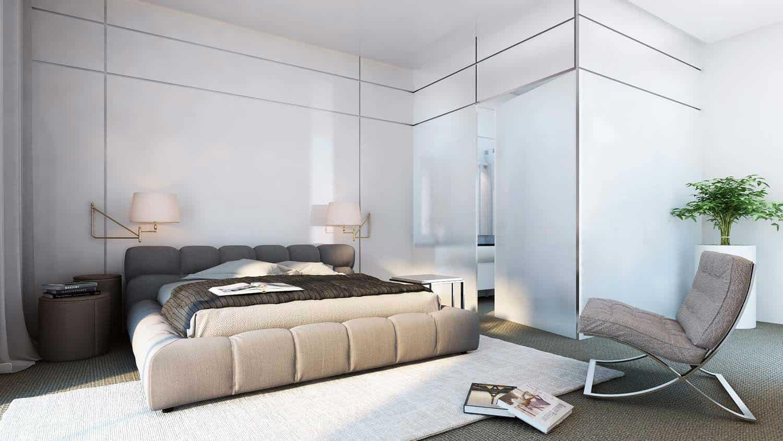 Web3D - הדמיה - אילוסטרציה של חדר שינה