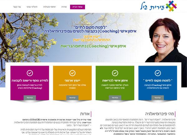 בניית אתרים לעסקים | עירית גיל | הקמת | באינטרנט | תדמיתיים