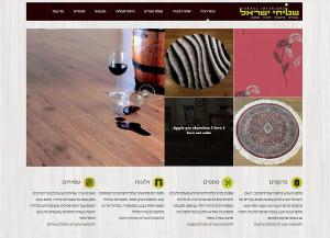 הקמת אתרים | אתר תוכן | שטיחי ישראל | אתרי | קטלוג | בנייה | עיצוב