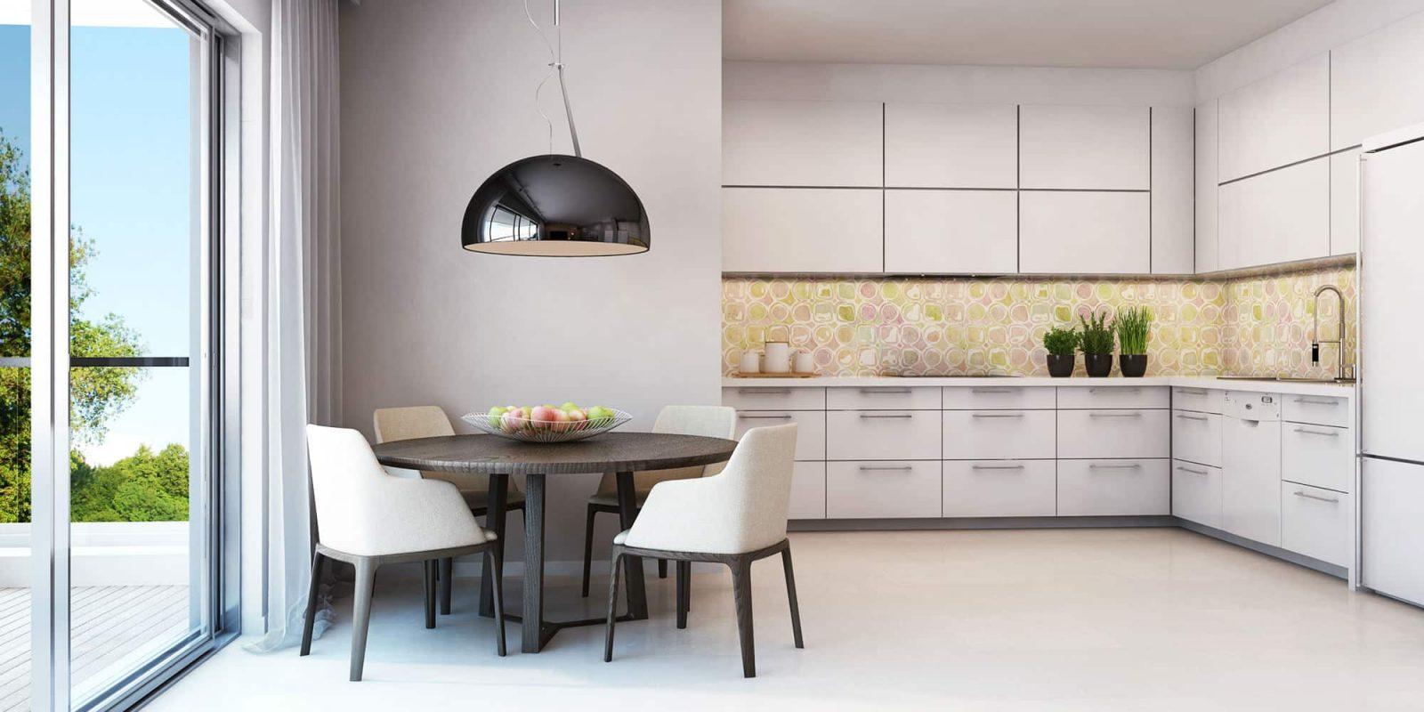 Web3D - הדמיה אדריכלית - צילום של מטבח