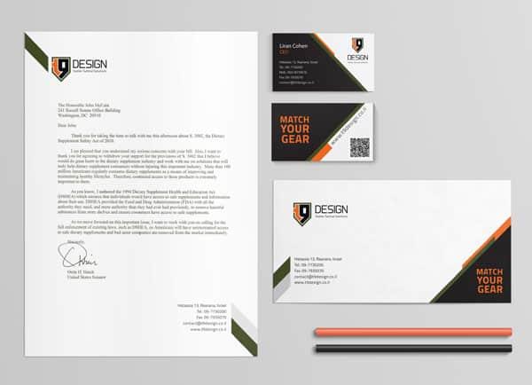 עיצוב גרפי מיתוג עסקי T9 2
