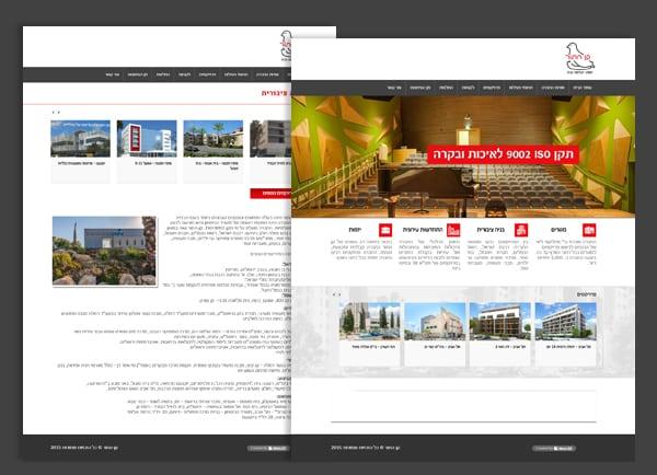 web3d, עמוד אתר, קן התור, עיצוב אתר מקצועי