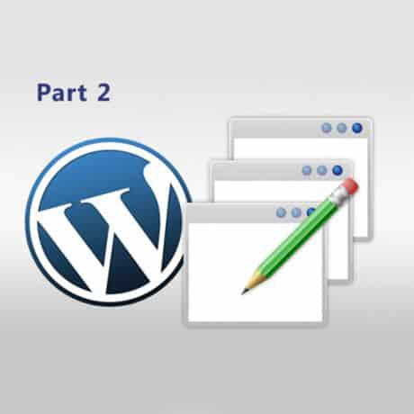 Web3D - לוגו של word press - Web3D - אתר נגיש - נגישות לאינטרנט