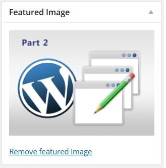מדריך וורדפרס, אזור ניהול תמונה - עמוד פוסט, מערכת ניהול תוכן WordPress
