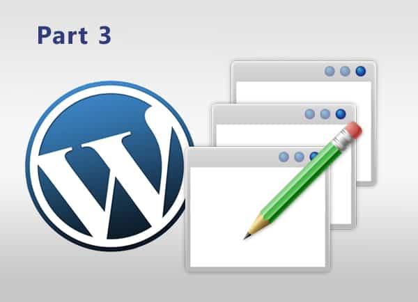Web3D - לוגו של word press - נגישות אתרי אינטרנט