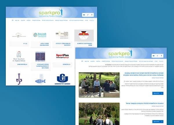 web3d, אתר אינטרנט, sparkproe, עיצוב