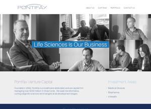 עיצוב אתר תדמית, בניית אתרים, pontifax