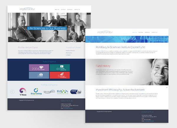 הקמת אתר אינטרנט, עיצוב אתרים, pontifax