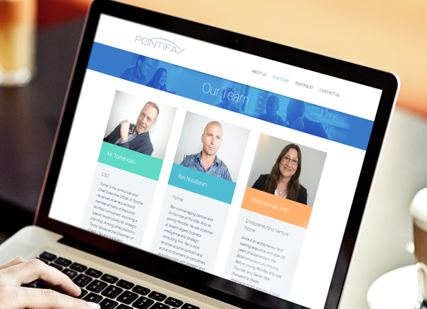 הקמת אתרים, עיצוב אתר תדמית, , pontifax