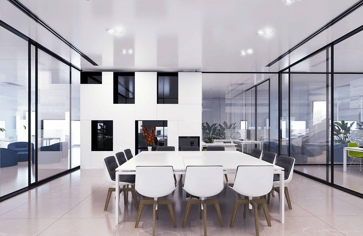 הדמיות תלת מימד | אדריכליות: הדמיית משרד בעיצוב חדשני