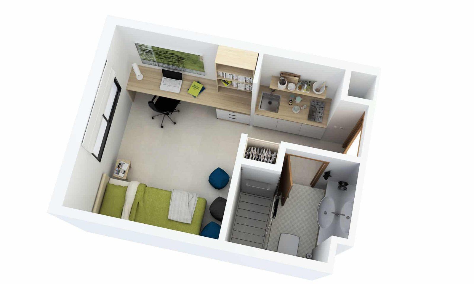 Web3D - תלת מימד - צילום פנים של דירה