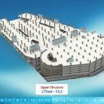 הדמיה אדריכלית של קניון לחברת דניה סיבוב
