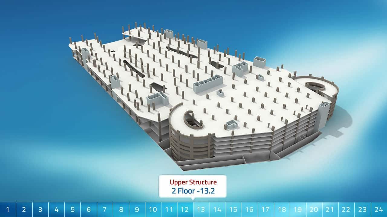Web3D - תלת מימד - צילום מבנה חיצוני
