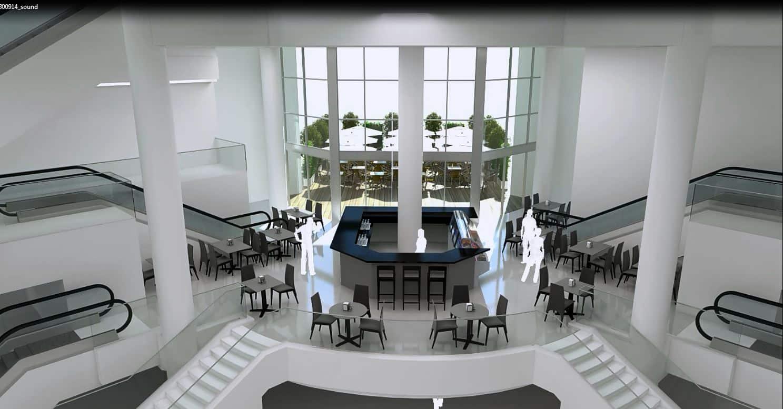 הדמיות אדריכליות: הדמיית קניון Friendly Mall