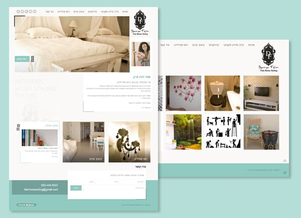 web3d, דנה פיין, אתר וודפרס, מורכב