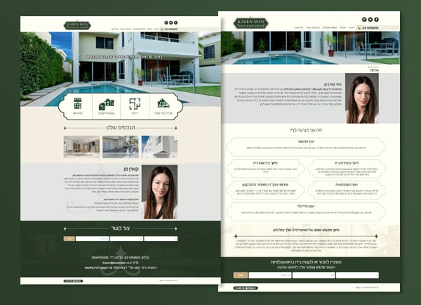 web3d, קארן מן, עיצוב אתרים, פיתוח