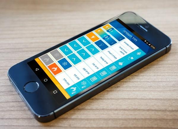 עיצוב ממשק משתמש, אפליקציה, smart4home