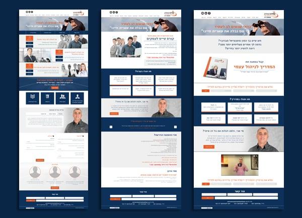 web3d, עמירם קאופמן, בניית אתר תדמית