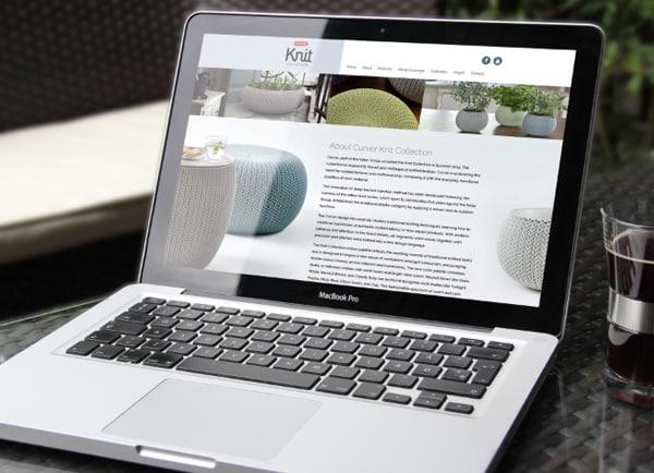 עיצוב אתרים, Knit