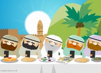 הכנת סרטון אנימציה – אגרת לחג לפסח 2016 פרויקט