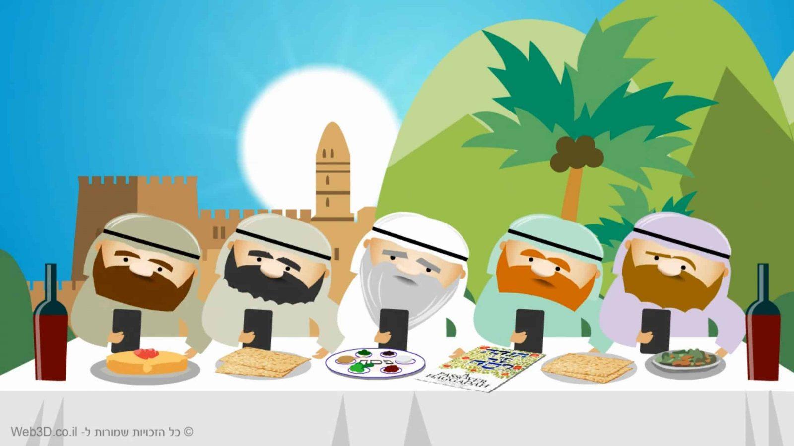הכנת סרטון אנימציה – אגרת לחג לפסח 2016