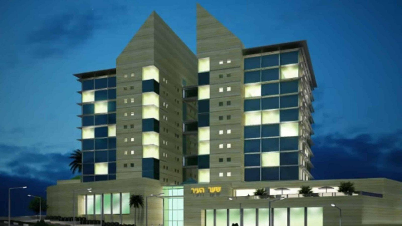 הדמיות אדריכליות פרוייקט שער העיר