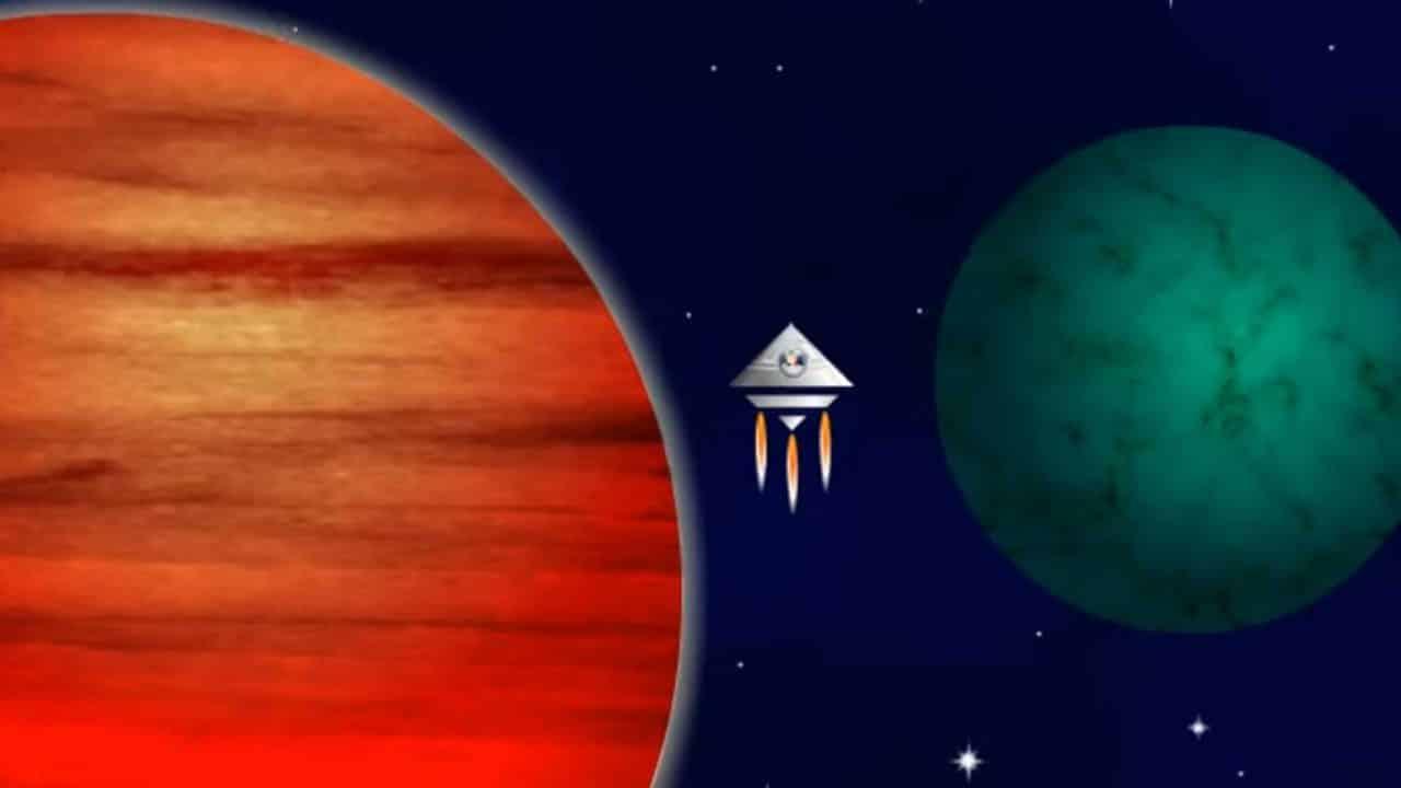 Web3D - ראש השנה - כוכבי לכת - סרטון אנימציה
