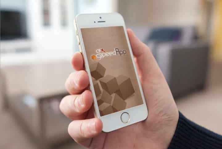 עיצוב UI, הדמיית אפליקציה - SpeedApp