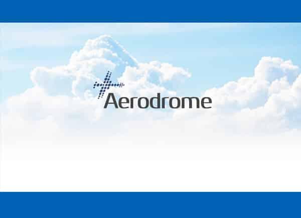 Web3D - מיתוג עסקי - לוגו של aerodrome