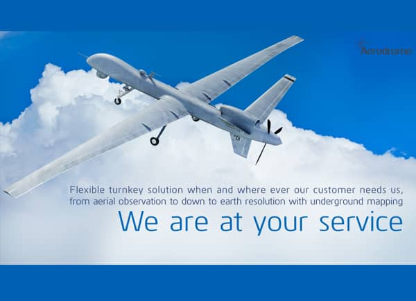 Web3D - מצגת עסקית - aerodrome