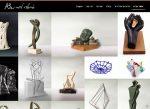 Web3D | בניית אתר תדמיתי | אתר קטלוג: אריאלה לייזר - פסלת